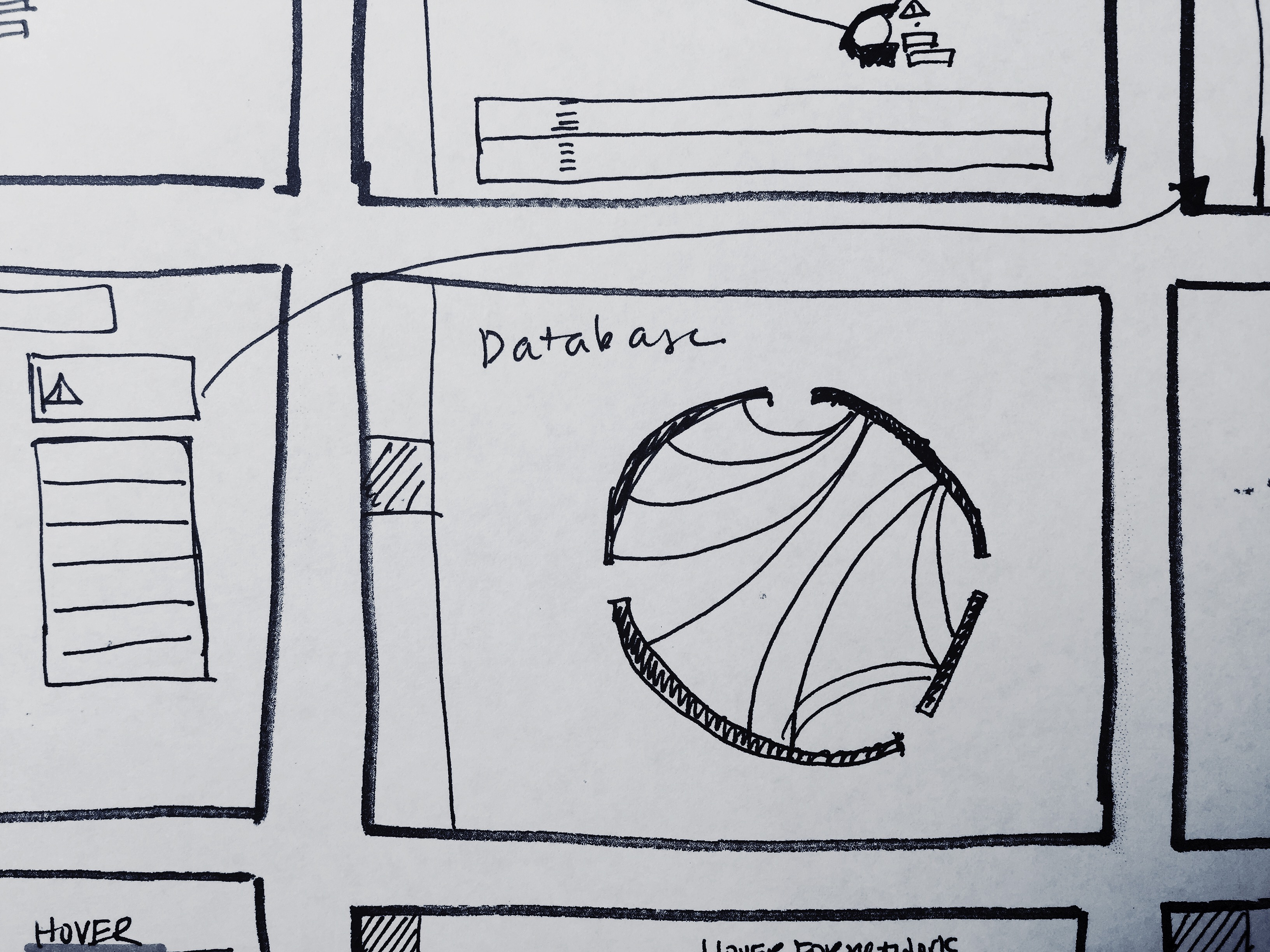 Admin UI Sketches