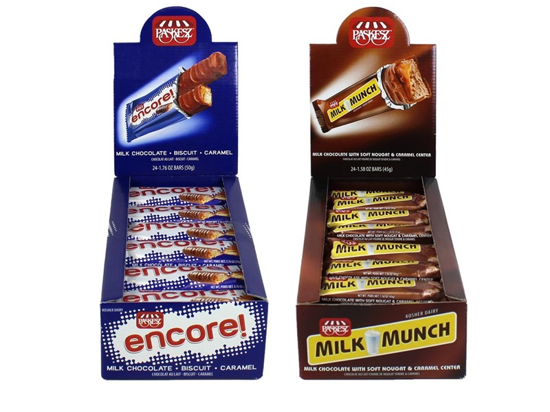 Paskez Encore Mini Bar (45g)/Milk n' Munch Mini Bar (50g)
