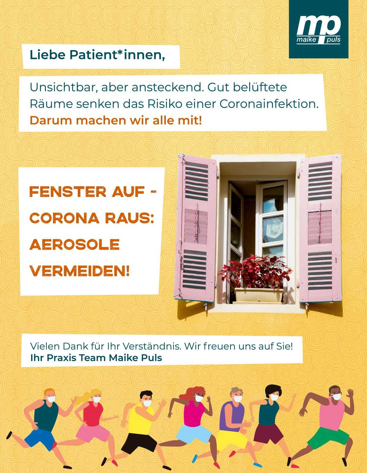 Physiotherapeut Hannover - Corona Information