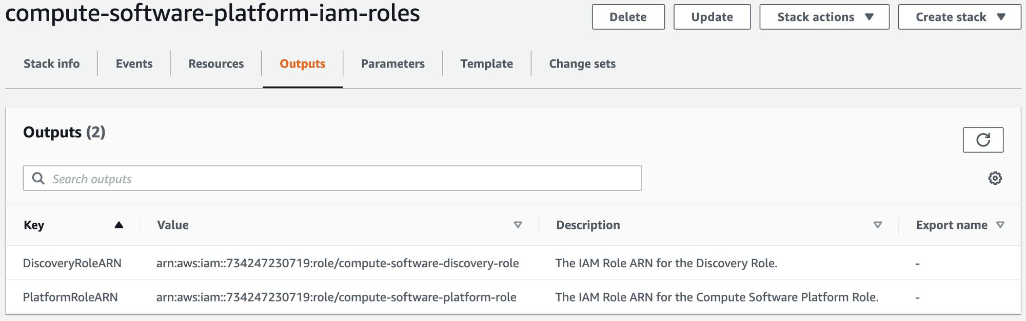 AWS CloudFormation Configure Step 4