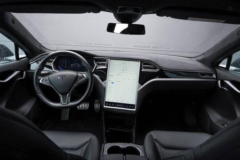 Tesla Model S 85D Performance 700pk Free Charging Pano Leer afbeelding 2