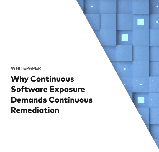 Why Continuous Remediation