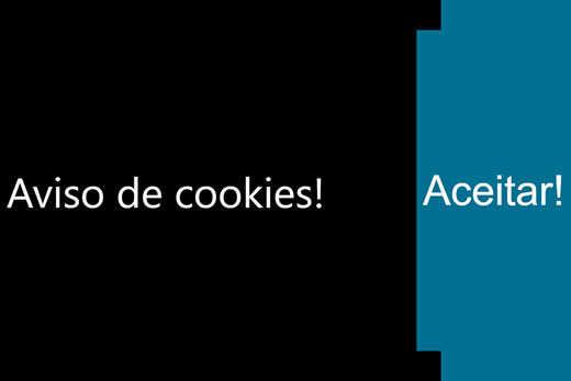 Criando barra de aviso de cookies para sites