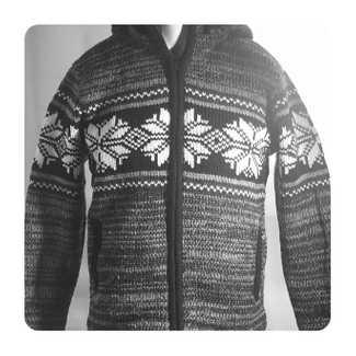 GFacey Wool Cardigan Nepal Snow