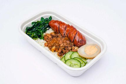 ChickCha - Rice - Taiwan sausage rice