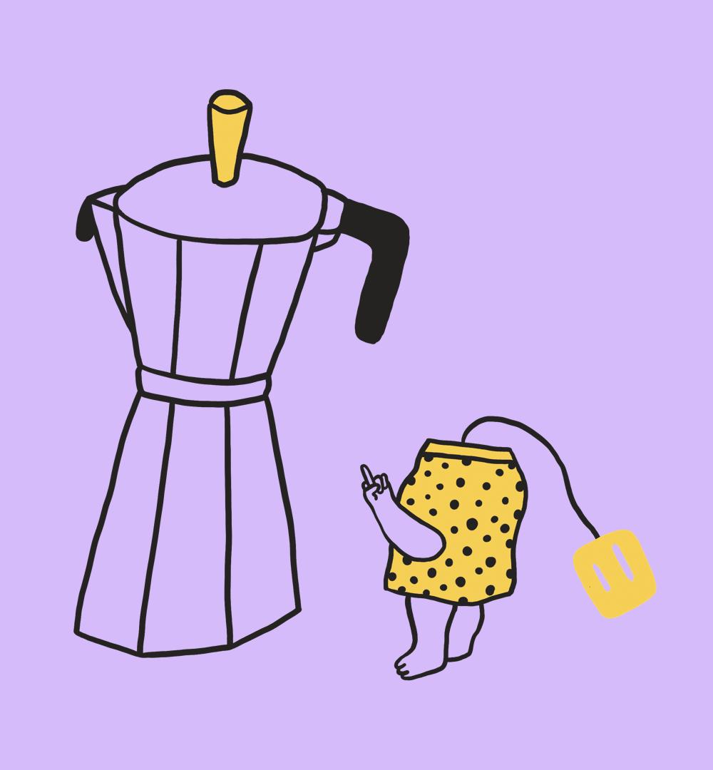 Kaffee oder Tee? Wir kann man einen Streit richtig lösen?