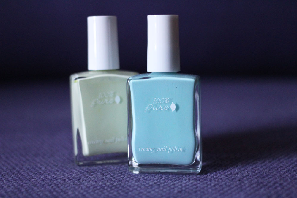 100% Pure vegan nail polish