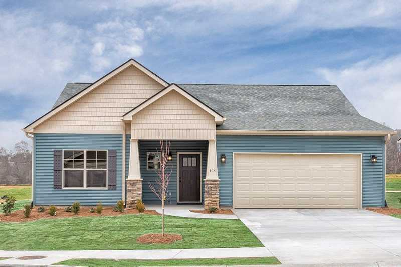 Move-in ready new homes for sale in Pendleton, SC - The Falls at Meehan