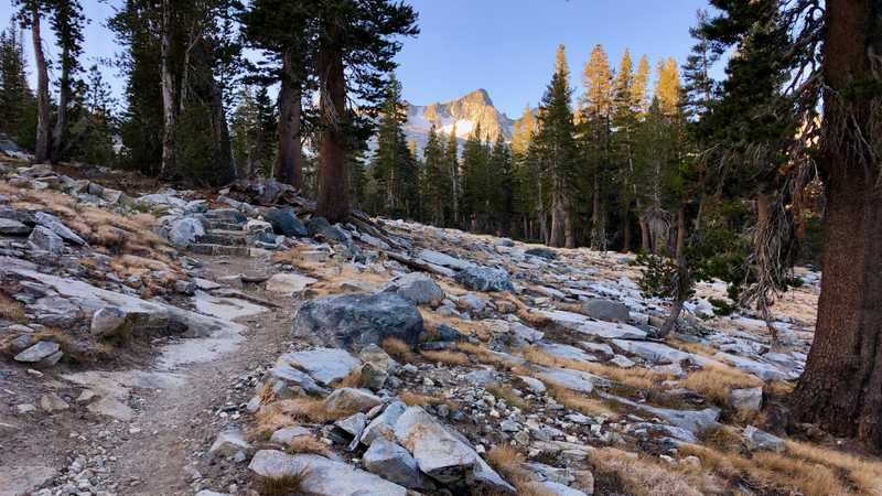 Leaving Rush Creek