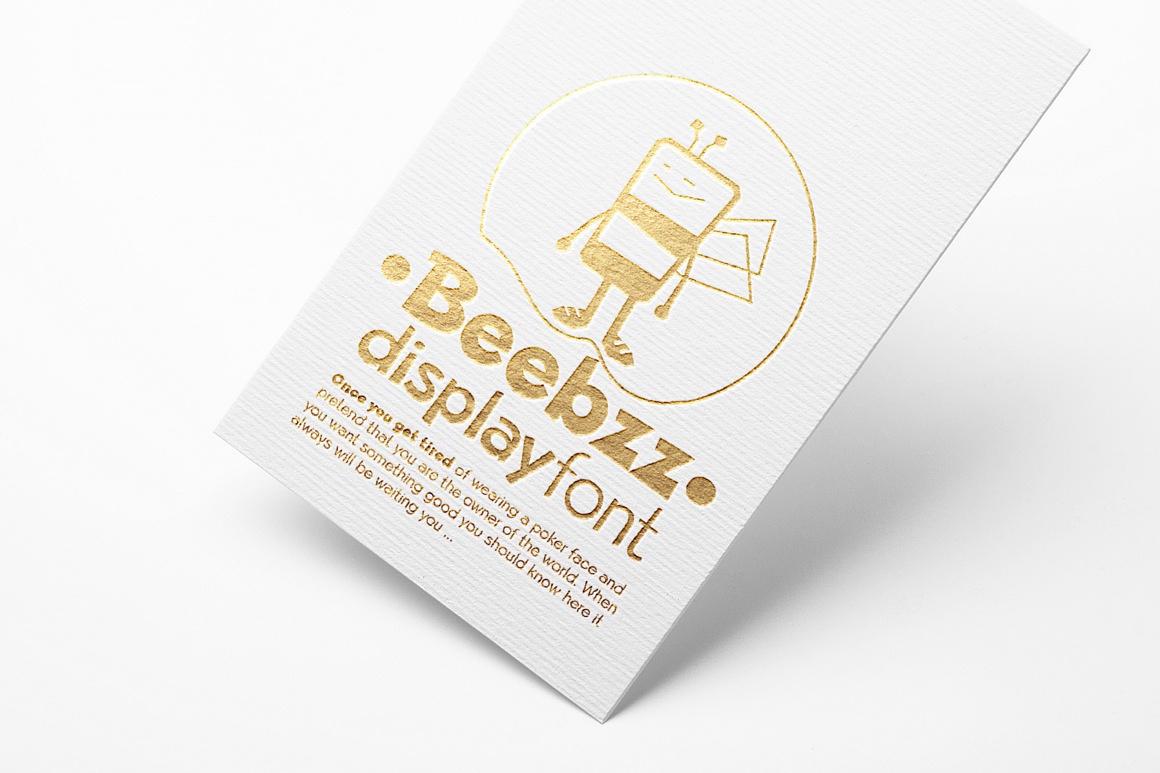 Beebzz fun kidzz font images/beebz-child-font-free_8.jpg