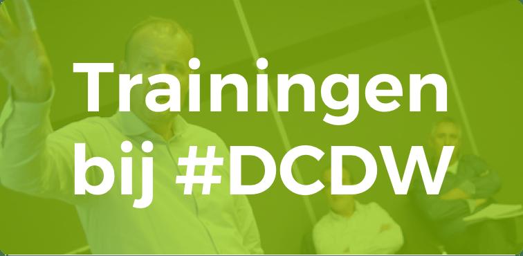 Trainingen bij #DCDW