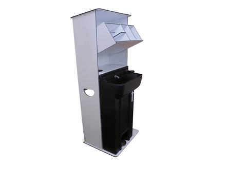 Large Indoor/Outdoor Hand Wash + Sanitiser Station
