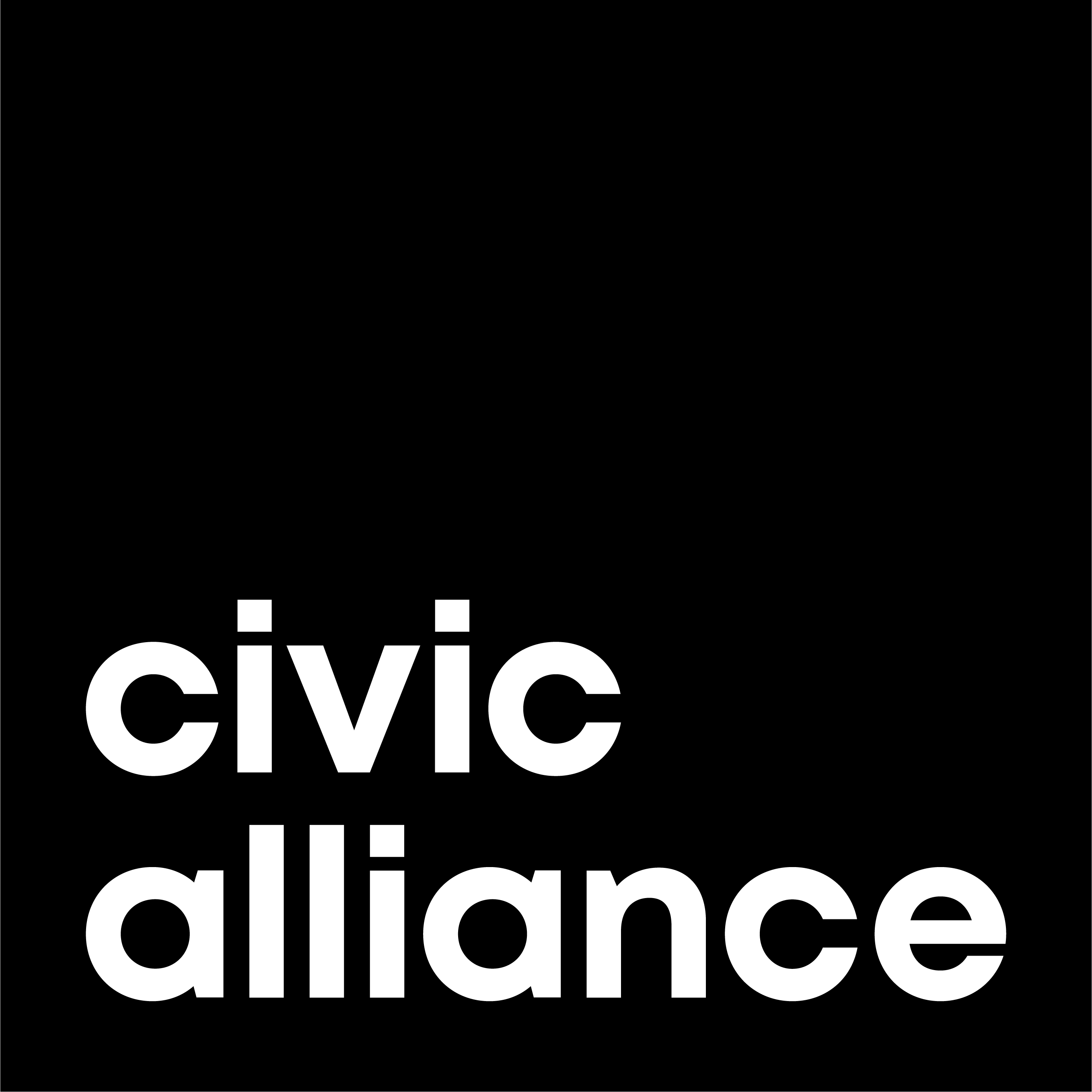 Civic Alliance - Black