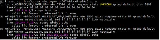 Pod IP Details