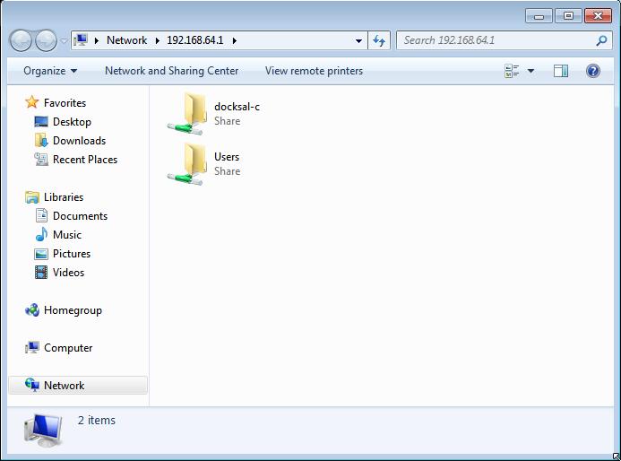 Windows SMB shares :: Docksal Documentation
