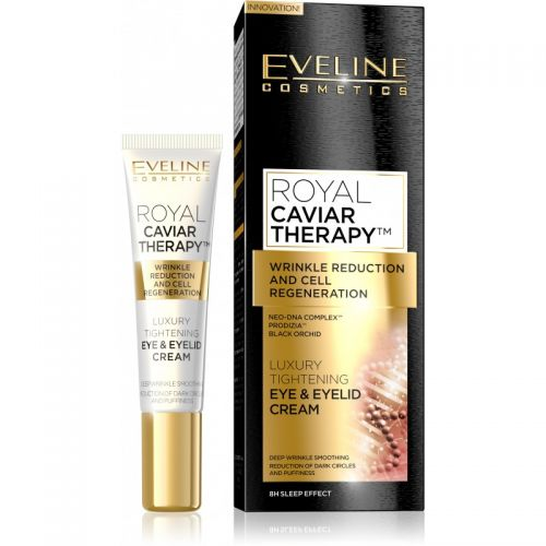 EVELINE ROYAL CAVIAR THERAPY LUXUS SZEMKÖRNYÉKÁPOLÓ KRÉM 15 ml | Eveline Cosmetics