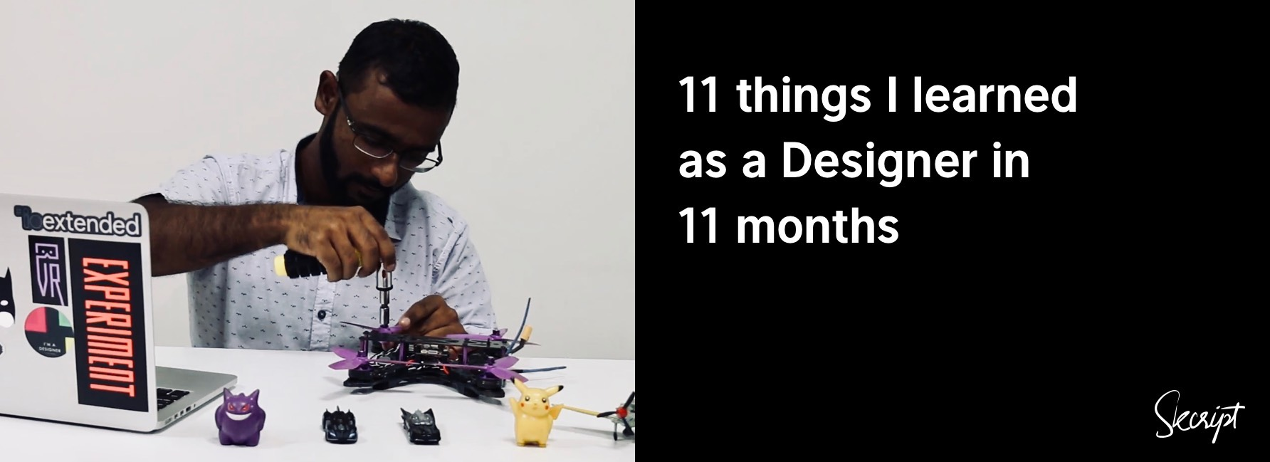 11 things I learned as Designer in 11 months