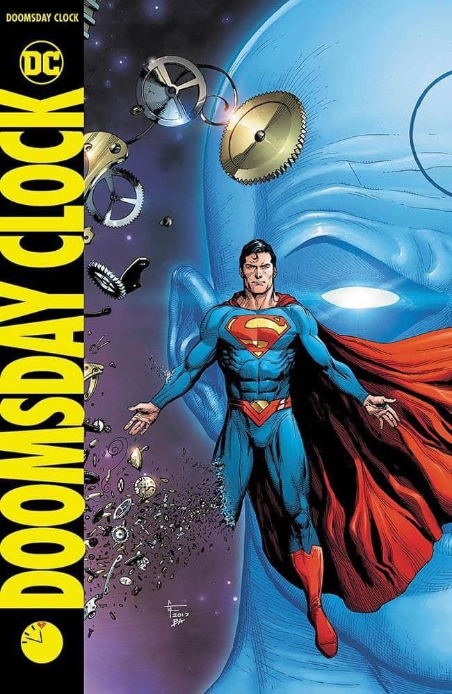 edição 1 de Doomsday Clock (O Relógio do Juízo Final) da DC