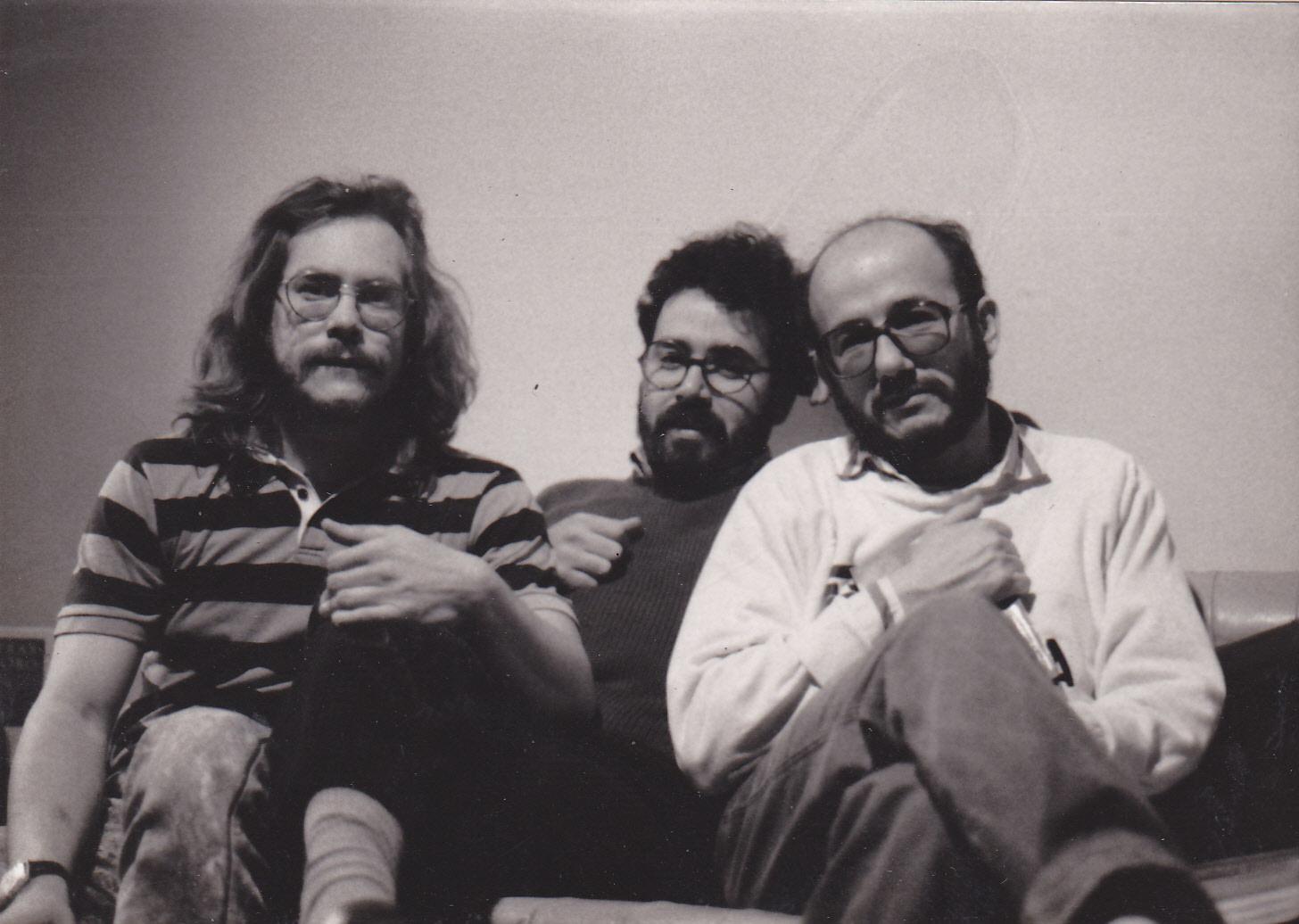 image from Poetas Neoberracos: Noel Jardines, Gabriel Jaime Caro y Jesús Blas Comas