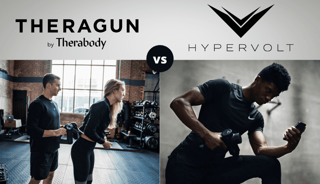 Stiff And Sore? ,Read This Review Comparing ,Theragun vs Hypervolt. ,(2021 Review) cover image