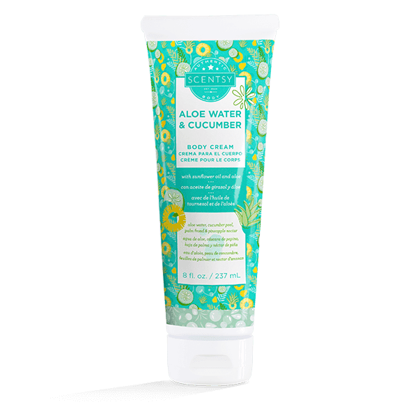 Aloe Water & Cucumber Body Cream
