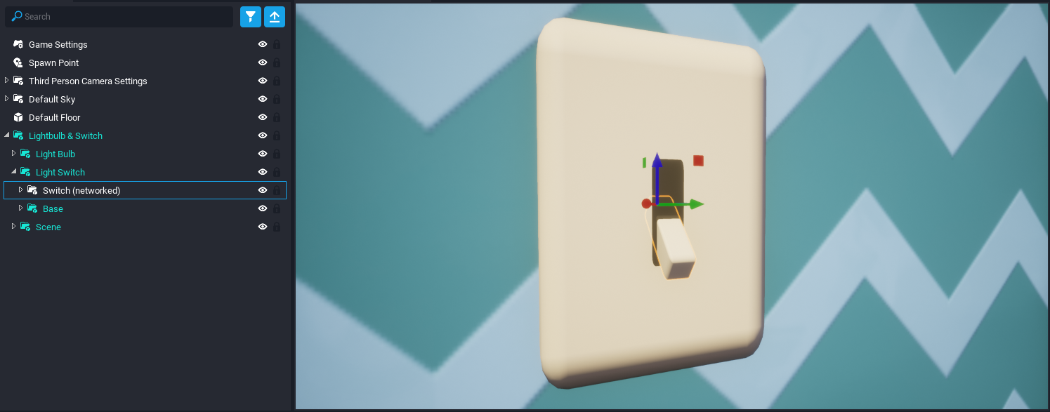 Selected Switch Object