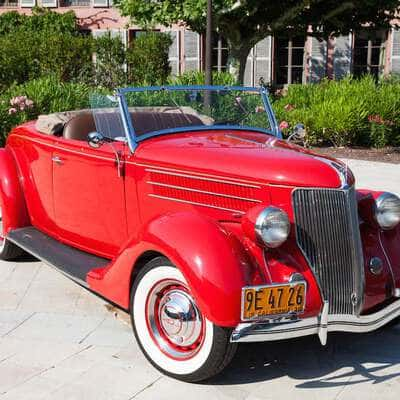 Ford V8 DeLuxe 2 Door Roadster 1936 1