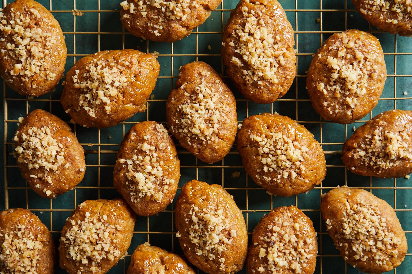 Greek Honey Walnut Cookies