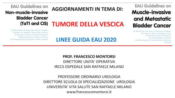 Nuove Linee Guida Europee per il Tumore della Vescica