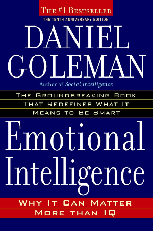 Emotional Intelligence by Daniel Goleman Book Cover