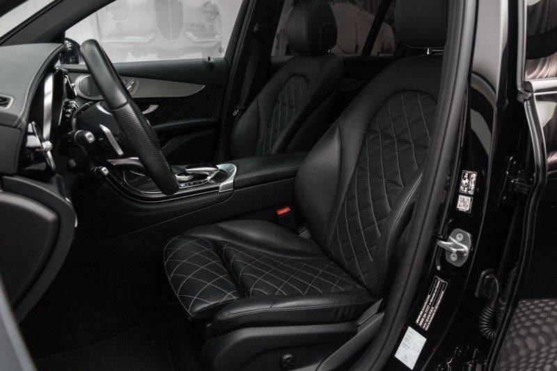 "Mercedes-Benz GLC GLC43 AMG 367pk 4Matic Panoramadak Luchtvering Nightpakket Distronic Keyless Burmester Sportleder+Memory Carbon AmbientLight ComandOnline 21"" Parktronic 360Camera Pdc afbeelding 2"