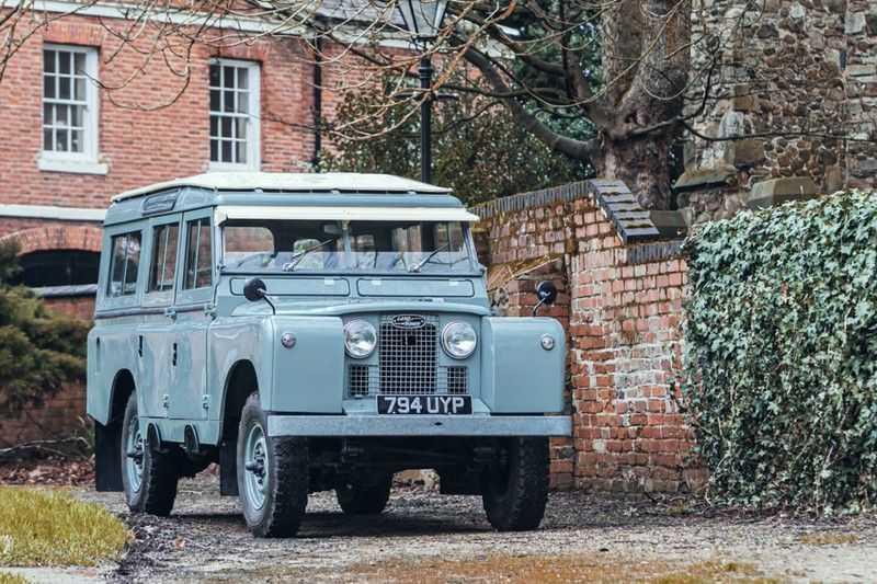 Land Rover 88 / 109 Series 2 van (1958 - 1968) afbeelding 1