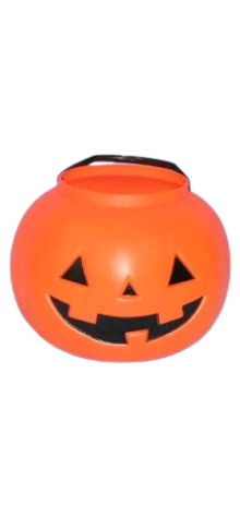 Large Pumpkin Pail With Handle photo