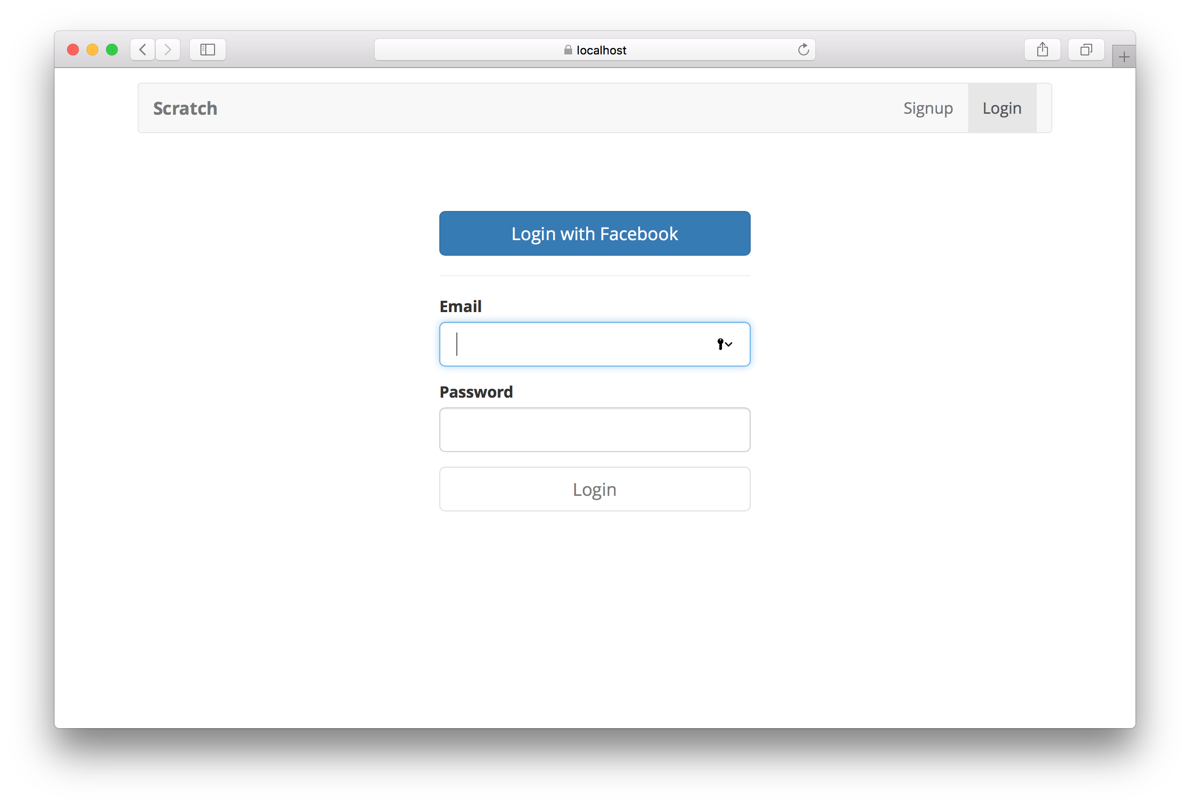 Facebook Login with Cognito using AWS Amplify | Serverless Stack