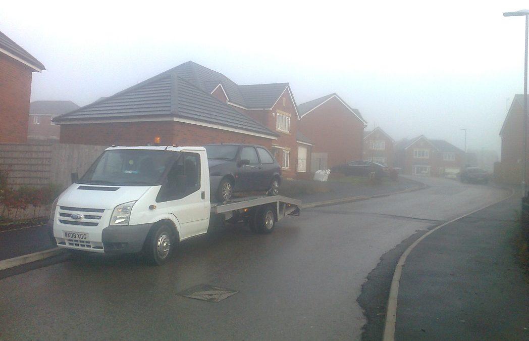 Scrap cars Bought In Poulton-le-Fylde, Lancashire – Ford Fiesta 1.2