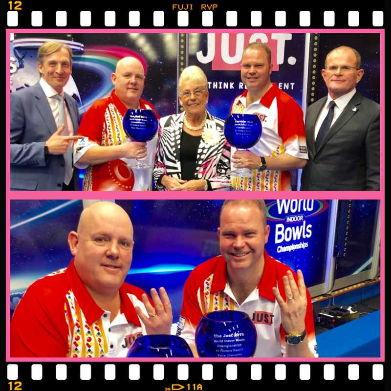 FOSTER AND MARSHALL TAKE WORLD PAIRS TITLE FOR A FOURTH TIME IN A PULSATINGFINAL