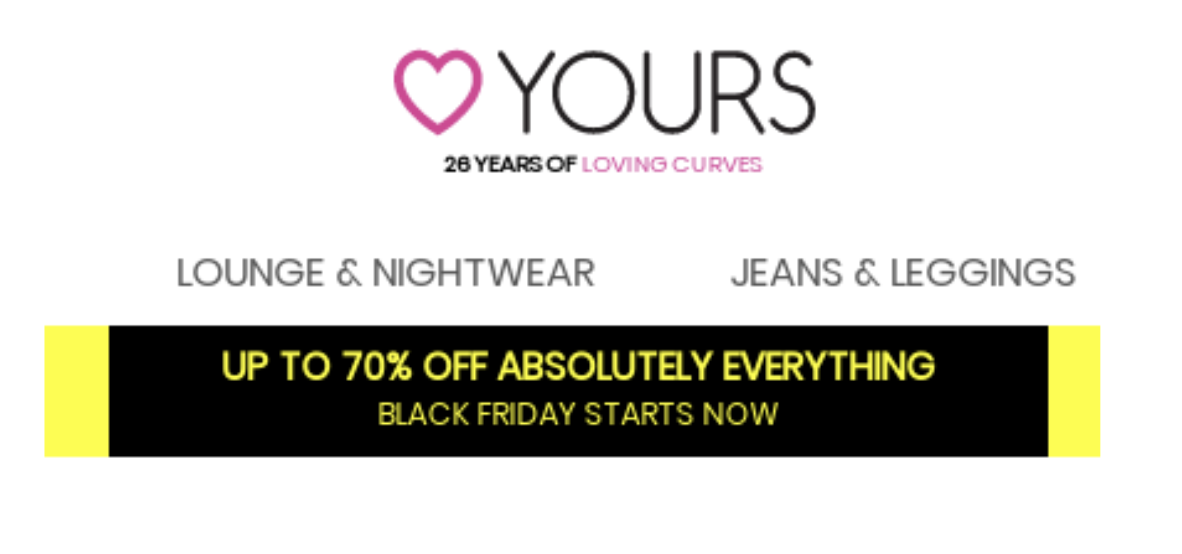 discounts on black friday