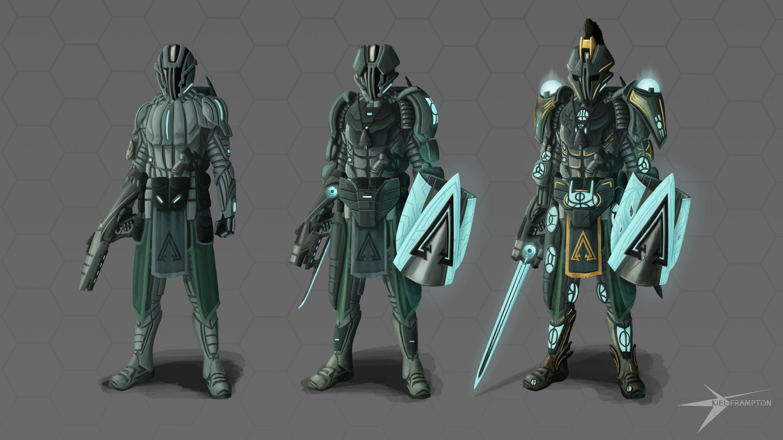 Riftblade: Sci-fi Soldier
