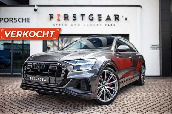 "Audi Q8 55 TFSI E Hybride Quattro *S-Line / B&O / Pano / 23"" / Black Pack / ACC*"