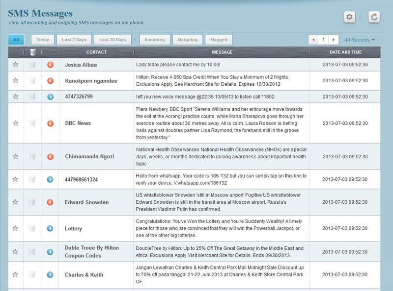 (Flexispy Demo) How To Tracker iPhone & Android phones (Call Logs)