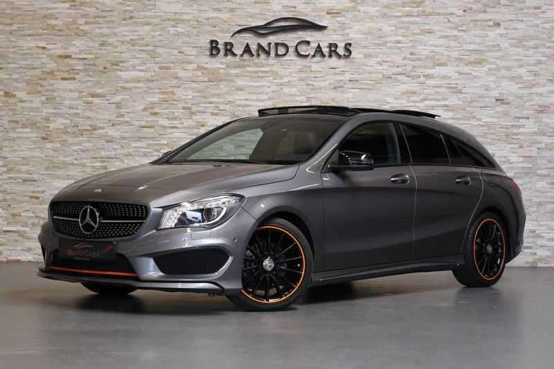 Mercedes-Benz CLA-Klasse Shooting Brake 200 OrangeArt Edition | VERKOCHT! | | Panoramadak | Memory stoelen | AMG Pakket | Night Pakket | Achteruitrijcamera | afbeelding 7