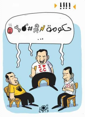 "Anwar, ""The Government is $%@,"" Al-Masry Al-Youm, November 29, 2013"