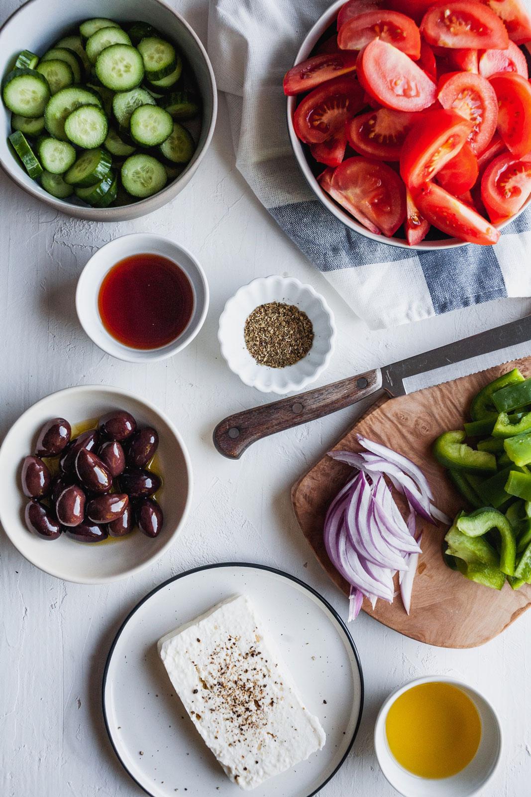 Classic Greek Village Salad