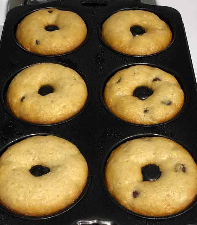 vegan banana bread donuts