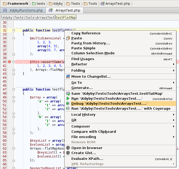 phpstorm-php-debugger-tests