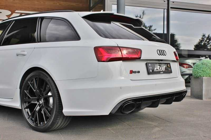 Audi RS6 4.0 V8 605pk Performance Quattro **Pan.dak/HUD/ACC/Camera/Carbon** afbeelding 11