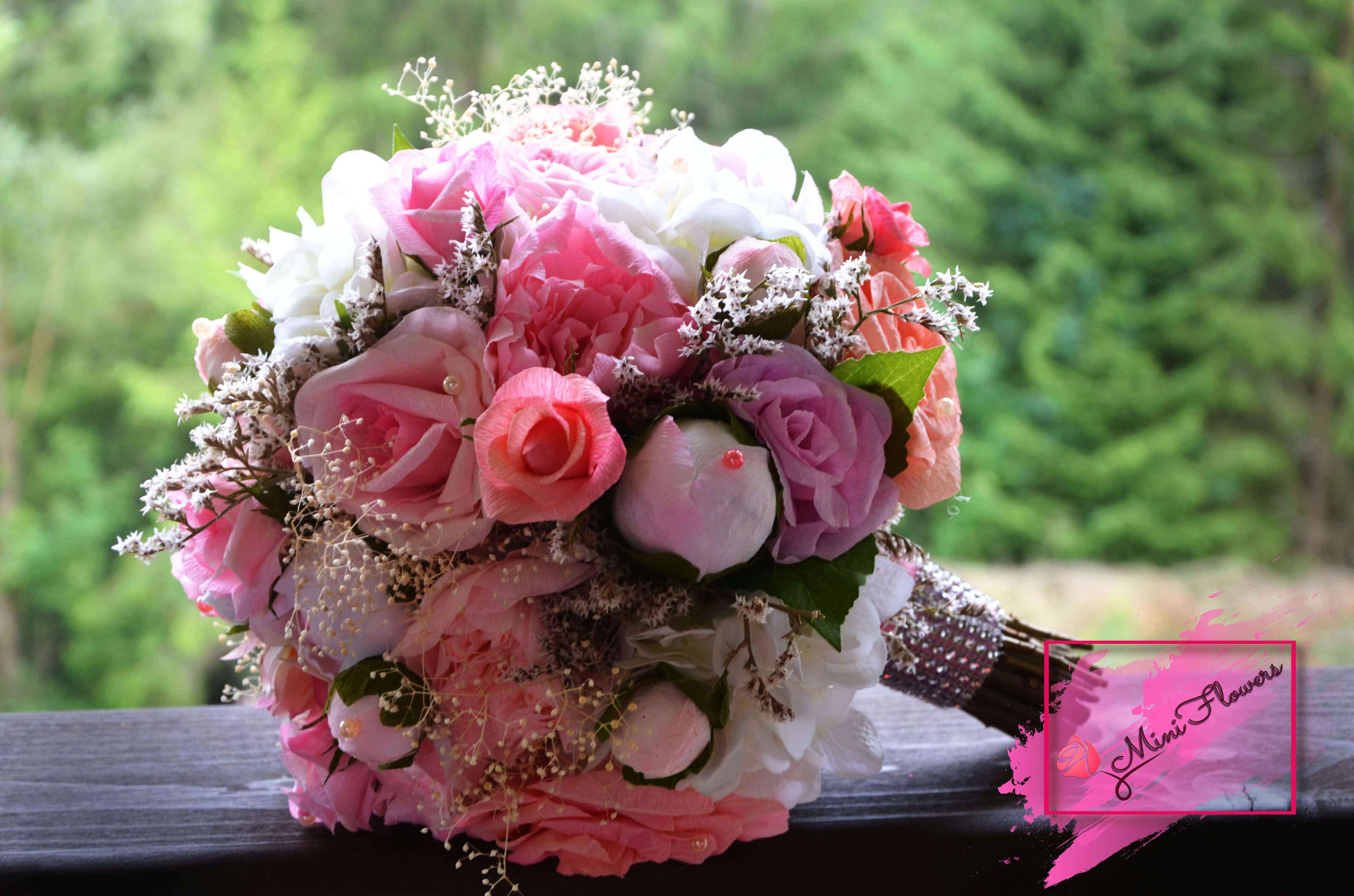 Buchete de mireasa - Mini Flowers
