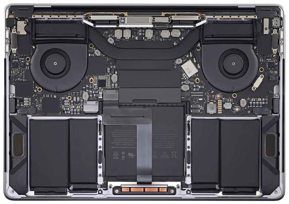Arrière MacBook Pro