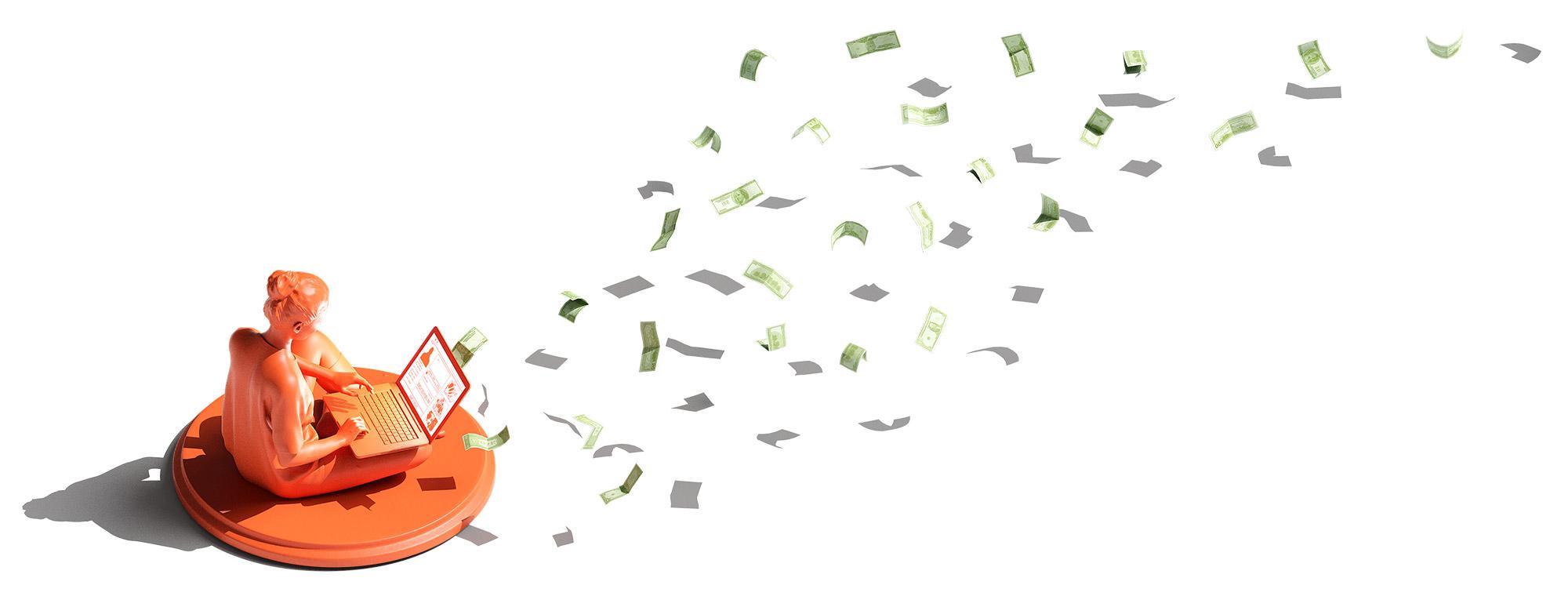 Die Nutzer*innen von sozialen Medien zahlen nicht mit Geld, sondern mit ihrer Aufmerksamkeit.