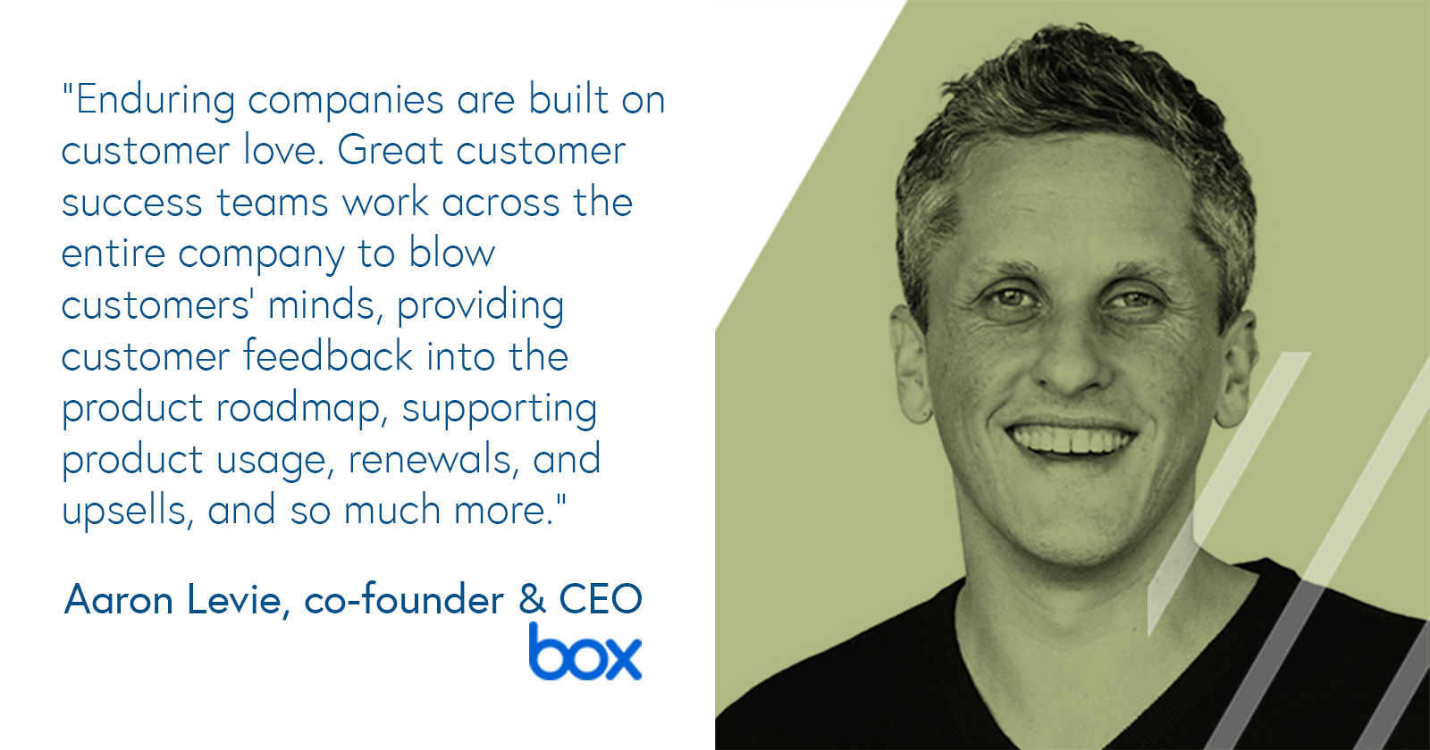 Aaron Levie, CEO of Box on customer love and customer success